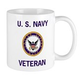 Navy Veteran Coffee Cup
