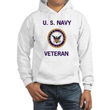 Hooded Navy Veteran Sweatshirt