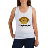 I love my Monkey Man! Tank Top