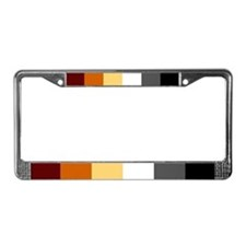 License Plate Frame - Bear Sharp