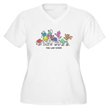 The Lab Staph Plus Size T-Shirt
