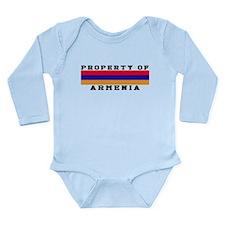 Property Of Armenia Long Sleeve Infant Bodysuit