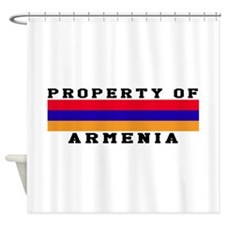 Property Of Armenia Shower Curtain
