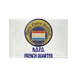 New Orleans Police French Quarter Rectangle Magnet