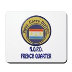 New Orleans Police French Quarter Mousepad