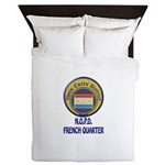 New Orleans Police French Quarter Queen Duvet
