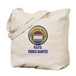 New Orleans Police French Quarter Tote Bag