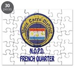 New Orleans Police French Quarter Puzzle
