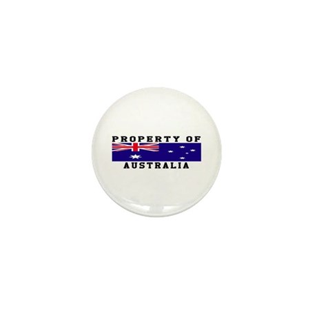 Property Of Australia Mini Button (100 pack)