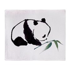 Chinese Panda art Throw Blanket