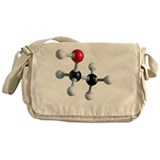 Ethanol molecule - Messenger Bag