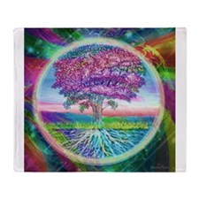 Tree of Life Blessings Throw Blanket