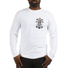 "Lucky ""13"" Skull Long Sleeve T-Shirt"
