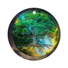 Health Healing Ornament (Round)