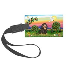 BrightCntry-Cav-BT-R Luggage Tag