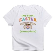PERSONALIZE Baby Rabbit Easter Infant T-Shirt