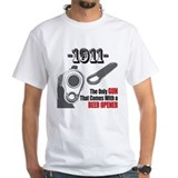 1911 comes with beer opener T-Shirt