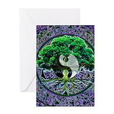 Tree of Life Balance Greeting Card