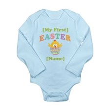 PERSONALIZE Baby's 1st Easter Long Sleeve Infant B