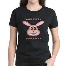 PERSONALIZE Pink Bunny Tee