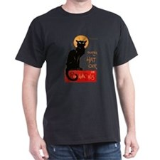 Tournee du Chat Steinlen Black Cat T-Shirt