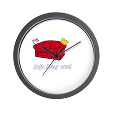 sofa king cool Wall Clock