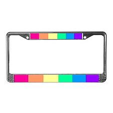 License Plate Frame - Lesbian Sharp