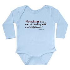 'Mountains' Long Sleeve Infant Bodysuit