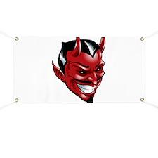 Devil Red Banner