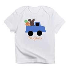Easter time truck personalized Infant T-Shirt