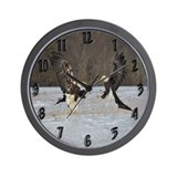 Fighting Ealges Wall Clock