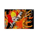 FIRE Rectangle Magnet (10 pack)