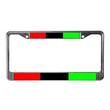 License Plate Frame - Black Pride
