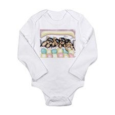 ByCatiaCho Sleeping Babies Long Sleeve Infant Body