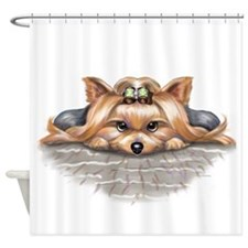 ByCatiaCho My Blessings Shower Curtain