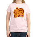 Jive Turkey Women's Pink T-Shirt