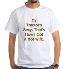 Sexy Tractor Hot Wife Shirt