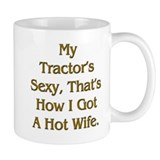 Sexy Tractor Hot Wife Coffee Mug