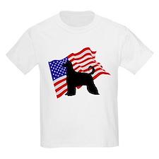 Afghan Hound Kids T-Shirt