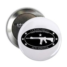 "I Think, Therefore I Am Armed 2.25"" Button"