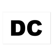 DC Postcards (Package of 8)