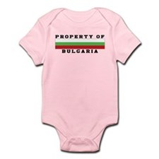 Property Of Bulgaria Infant Bodysuit