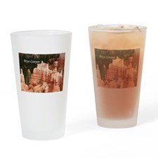 Bryce Canyon, Utah 3 (caption) Drinking Glass
