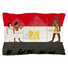 Egyptian Graphic Pillow Case