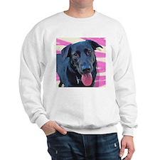 Black Lab Art Sweatshirt
