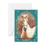 Palomino Filly Christmas Cards (Pk of 10)