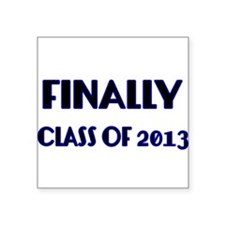 Finally-Class of 2013 Blue Sticker