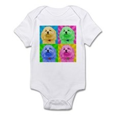 Pop Art Havanese Infant Bodysuit