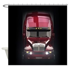 Heavy Truck Shower Curtain