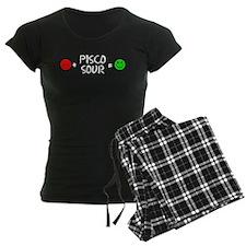 Plus Pisco Sour Equals Happy Pajamas